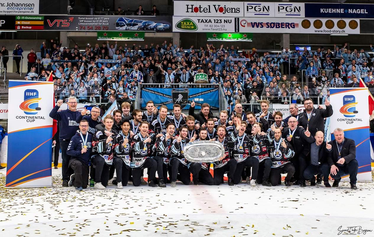 Lodtrækning til Champions Hockey League i næste uge...